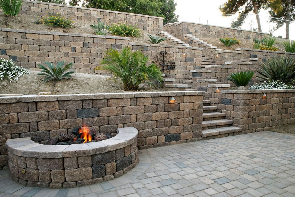 Property Wall Landscaping Escondido