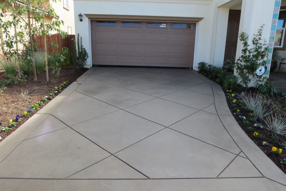 Regular Concrete Landscaping Escondido