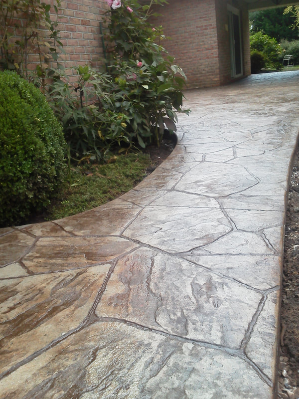 Stamped Concrete Landscaping Escondido