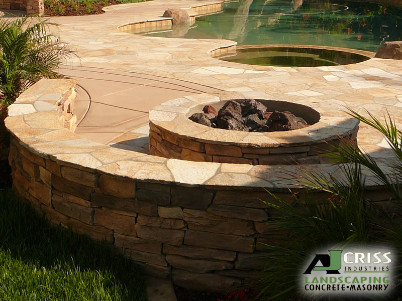 Homeowners in Escondido, Rancho Bernardo, Oceanside and Carlsbad hoping to  have an outdoor fire pit installed ... - Fire Pits Installation - Landscaping Escondido AJ Criss Industries