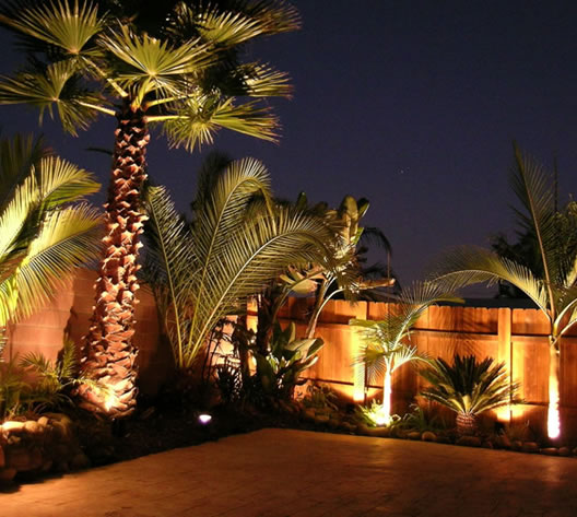 Outdoor lighting Landscaping Escondido