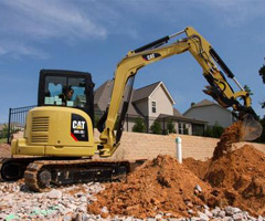 303.5 Mini Excavator 2